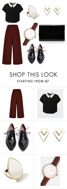 """""""Untitled #10"""" by scorpiofirelfy ❤ liked on Polyvore featuring Proenza Schouler, Jeffrey Campbell, Ippolita, Breda and Alessandra Rich"""