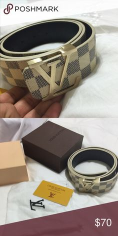 Nice belt New with box price reflects authenticity. Great quality Other