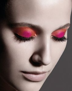 Nice eye make-up!!