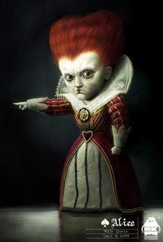 Alice in Wonderland-Red Queen by michaelkutsche on DeviantArt
