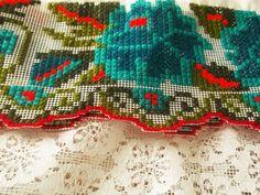 Mexican Cross Stitch Dress  Mayan Dress  Ceremonial by ArteImMrAmA