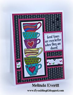 If You Bling It: March Stamp of the Month Blog Hop - Tea-rrific