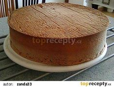 Nadýchaný piškotový korpus bez prášku do pečiva recept - TopRecepty.cz No Bake Cake, Cake Designs, Food Hacks, Cheesecake, Food And Drink, Sweets, Cookies, Baking, Drinks