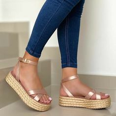 Shoes Bootie boots Sandals Sandal espadrille Espadrilles Footwear NUEVA C Shoes Flats Sandals, Sandals Outfit, Cute Sandals, Cute Shoes, Me Too Shoes, Bota Over, Summer Shoes, Bootie Boots, Fashion Shoes