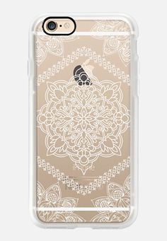 Casetify iPhone 7 Case and Other iPhone Covers - Mandala Forever in White by mandalamaze | #Casetify