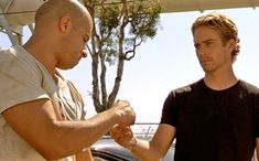"""Brian lets Dom go, 'The Fast and the Furious' After avenging Jesse's death, Dom and Brian have one last quarter-mile race, which ends in Dom flipping his car and injuring his arm. But when Brian hears the sirens in the distance, he makes a choice: Family first. Knowing it will cost him his job, Brian hands Dom his car keys, explaining, """"I owe you a 10-second car."""" And so Dom and Brian's relationship really begins."""