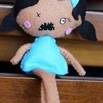 Zombie Feltie - by Joyfoolery on madeit  Aww!! Aint she cute :)