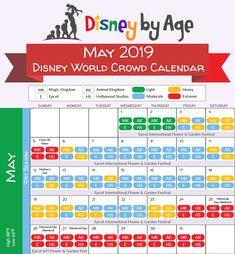 May 2019 Disney World Crowd Calendar