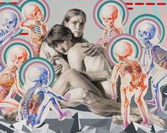 Strangely scientific paintings by artist Michael Reedy. More images below.               Michael Reedy's Website