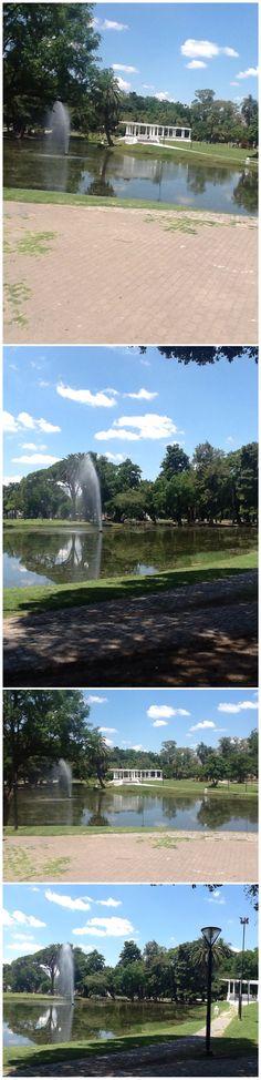 Lago del Parque Saavedra en La Plata.- MI 2· BARRIO