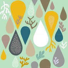 Rain or shine by Endemic from spoonflower