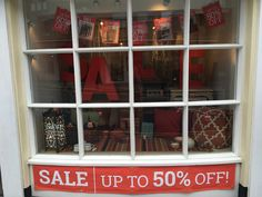 Banners and bunting are up, our Summer Sale has started in our #Guildford Shop, lots of bargains to be had!