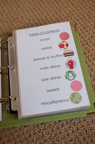 Make your own family favorites recipe book (instructions and templates included)