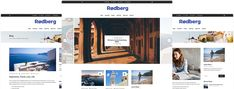 Blog Websites, Page Layout, Travel Agency, Wordpress Theme, Modern Design, Blogging, The Incredibles, Contemporary Design, Blog
