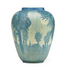 SADIE IRVINE; NEWCOMB COLLEGE Large vase : Lot 108