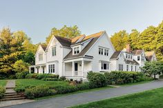 Crisp Architects renovated this colonial home with a modern farmhouse aesthetic, located in Chappaqua, New York. Cozy Living Spaces, Living Room, Built In Bench, Rustic Elegance, Historic Homes, Old Houses, Farm Houses, Home Builders, House Tours