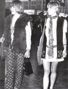 Brian Jones and Anita Pallenberg