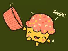 nudist cupcake lol