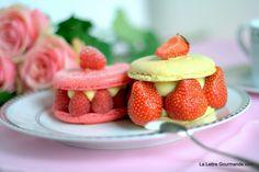 Macaron tarte fruits rouges