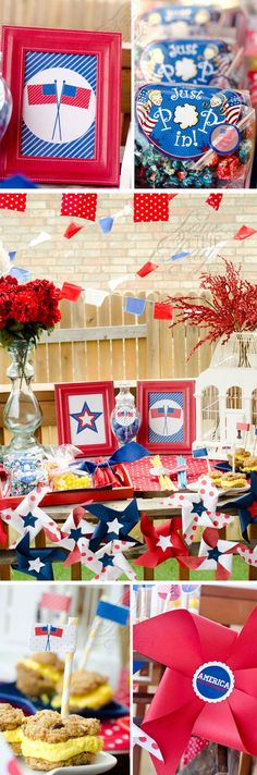 of july party ideas by lindi haws of love the day patriotic party Fourth Of July Cakes, 4th Of July Photos, 4th Of July Games, Fourth Of July Shirts, 4th Of July Desserts, Fourth Of July Food, 4th Of July Fireworks, 4th Of July Party, July 4th