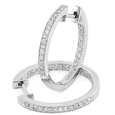 Buy diamond and gemstone hoop earrings directly from the manufacturer and save. The earrings are available in all sizes, and precious metals metals. Diamond Hoop Earrings, Fashion Shoot, Colored Diamonds, Precious Metals, Tiffany, Piercings, Personal Style, White Gold, Vintage Fashion