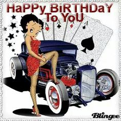 Happy Birthday From Betty Boop From Aunt Gloria Cousin