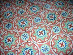 pasta tile floor