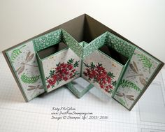 Awesomely Artistic Pop up Card • Just Fun Stamping