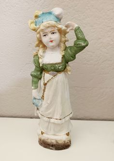 "New Old Stock Vintage Bisque Grandma /& Grandpa Dolls 6 1//2/"" Tall  original box"