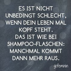 Even more cool sayings we have for you on gofemin Spruch des Tages // Zitate Quotes And Notes, Words Quotes, Life Quotes, Sayings, Saying Of The Day, Quote Of The Day, Best Quotes, Funny Quotes, German Quotes