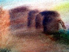 Untitled Seascape by Donald C-Note Hooker C Note, Prison Art, Seascape Art, Jim Crow, Artist, Artists