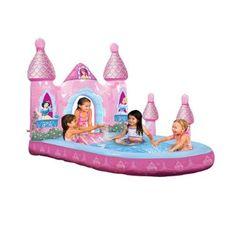 "Disney Princess Enchanted Princess Castle Pool (66"" x 48"") This is so darn cute I want one"