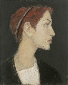 Gennadii Gogoliuk (b.1960) - Girl in Profile