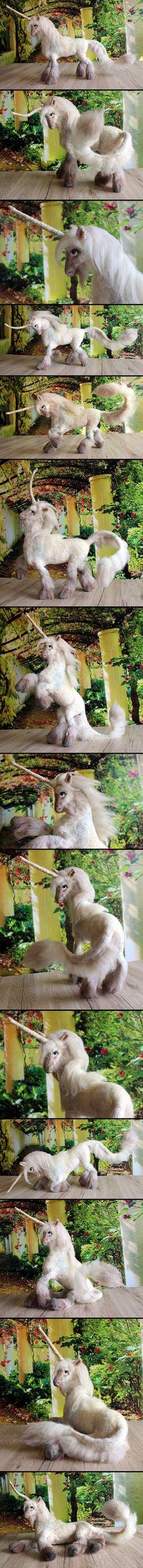 Pearl white Unicorn by Finya-Vardeen.deviantart.com on @DeviantArt