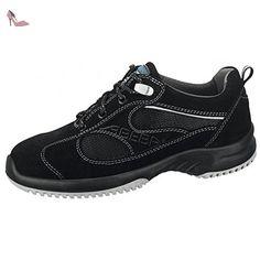 Abeba 31701-43 Uni6 Chaussures de sécurité bas ESD Taille 43 Noir - Chaussures  abeba
