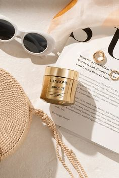 An anti-aging face cream that provides skin rejuvenation and all-day hydration. With SPF 15 sunscreen protection, skin is more resilient to visible signs of aging caused by sun damage. Velvet Cream, Banner Ideas, Radiant Skin, Skin So Soft, Skin Care Regimen, Lancome, Sunscreen, Anti Aging, Round Sunglasses