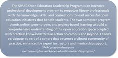 The Evolution of Librarians: Open Education Leadership Educational Leadership, Educational Technology, Second Semester, Leadership Programs, Project Based Learning, Librarians, Professional Development, Evolution, Student