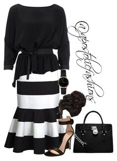 """Apostolic Fashions #1761"" by apostolicfashions on Polyvore featuring Dolce&Gabbana, Vero Moda, Gianvito Rossi, Freedom To Exist and MICHAEL Michael Kors"