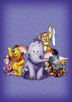 Pooh's Heffalump Movie poster, t-shirt, mouse pad