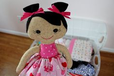Doll going to China to meet her new 'mommy'!
