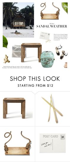 """""""Vacation Mode"""" by mirela-k ❤ liked on Polyvore featuring interior, interiors, interior design, home, home decor, interior decorating, Flamant and Garance Doré"""