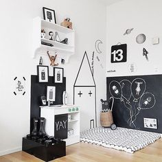 Happy Friday you lovely lot! Black Friday has gone crazy this year! How gorgeou… Happy Friday you lovely lot! Black Friday has gone crazy this year! How gorgeous is this play space from Cole white. Baby Bedroom, Baby Boy Rooms, Kids Bedroom, Room Baby, Montessori Room, Toy Rooms, Black Bedding, Kids Room Design, Kids Decor