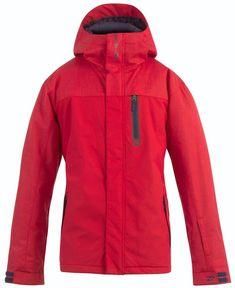 7cb4fc59cd1 (eBay Sponsored) BILLABONG Men s LEGEND PLAIN Snow Jacket - RED size- Large  -