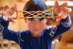 Do you remember playing Cat's Cradle when you were a kid? Now your child can learn classic string games like Cat's Cradle and Jacob's Ladder with this beautiful, rainbow-hued String Game from Sarah's Hand Games, Jacob's Ladder, Parenting Teenagers, One Bag, Fine Motor Skills, Games For Kids, Kids Fun, Stocking Stuffers, Activities For Kids