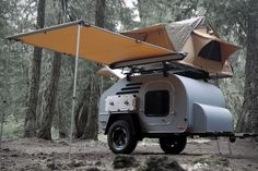 Customizable Teardrop Trailers - The Terradrop Trailer is Made from Off-Road Adventures (GALLERY)
