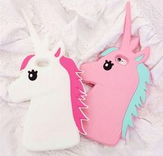 Unicorn Phone Case Cover For iPhone - Rebel Accessories (Pink & White) – Rebel Style Shop Iphone 7 Plus, Iphone 5s, Coque Iphone, Iphone Phone Cases, Phone Covers, Cute Cases, Cute Phone Cases, Telephone Samsung, Unicorn Phone Case