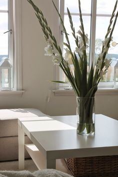 Tonjes Home - a blog about our home, style and beauty: This Weeks Flowers; Gladiols