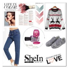 """""""Shein 40"""" by zerina913 ❤ liked on Polyvore featuring shein"""