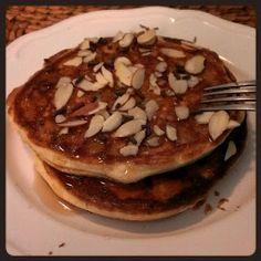 Vanilla Whey Protein Pomegranate Pancakes Recipe