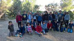 Course d'orientation avec Xavier – Mars / Avril 2017 - Ecole primaire Jean Moulin à Saint Saturnin les Avignon